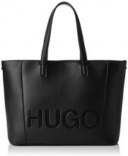 Hugo Mayfair Shopper - Borse a spalla Donna, Nero (Black), 15x29x44 cm (B x H T)