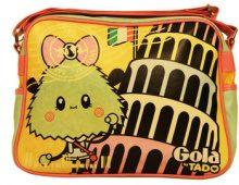 Borse bisacce Gola  TUB356 REDFORD PISA TRACOLLA Donna VERDE TANGERINE/MINT/PINK