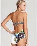 BYD da Donna Costumi Interi Push up Stampa Floreale Costumi da Bagno Bikinis Coordinati Swimsuit Beachwear