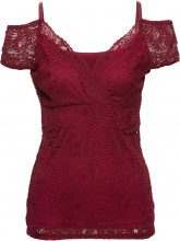 Top in pizzo (Rosso) - BODYFLIRT