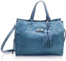 XTI 85920 - Borse a mano Donna, Blu (Jeans), 35x29x19 cm (W x H L)