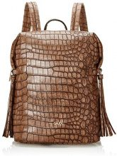 Gaudì Backpack Linea Alicia, Borsa a Mano Donna, Marrone (Brown), 23x29x12 cm (W x H x L)