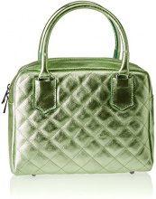 Chicca Borse 8847, Borsa a Spalla Donna, Verde (Verde), 26x19x10 cm (W x H x L)
