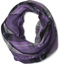 Cecil 570483, Sciarpa Donna, Violett (Dark Purple 31085), Taglia unica