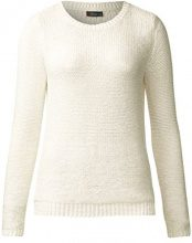Street One 300560 Leah, Maglione Donna, Beige (Off-White Knit 11128), 48