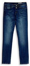 edc by Esprit 087CC1B033, Jeans Straight Donna, Blu (Blue Dark Wash 901), W33/L30
