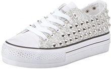 Primadonna 112618506GL, Sneaker Donna, Argento, 39 EU