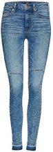 FIND Ripped Jeans Donna, Blu (Light Indigo), W32/L32 (Taglia Produttore: Large)