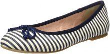 Tamaris 22142, Ballerine Donna, Blu (Navy Stripes), 37 EU
