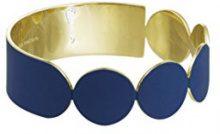 Uncommon Matters Bangle Donna placcato_oro - #1 BLUE