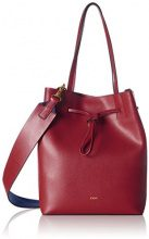 JOOP JoopGrano Colorblocking Lyda Matchsack Mvo - Borsa a spalla Donna, rosso (Rot (Dark Red)), 13x30x24 cm (B x H x T)