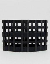 Seint - Cintura da portare in vita con cut-out a reticolo e zip - Nero
