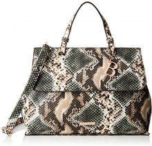 Bulaggi Sarto Handbag - cartella Donna, Grün (Khaki), 23x12x32 cm (B x H T)