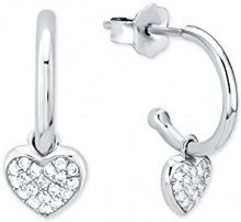 amor   925_Sterling_Silber  argento Rotonda   D Zirconia cubica