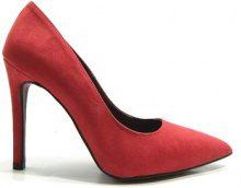 Scarpe Adele  990 Scarpe Donna Decoltè Tacco Alto Rosso
