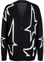 Marc Cain Sports Jacke, Cappotto Donna, Mehrfarbig (Midnight Blue 395), 44