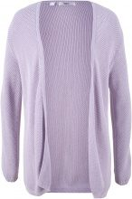 Cardigan in cotone (viola) - bpc bonprix collection