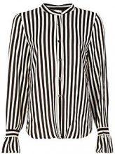 Mya Stripe Ruffle Cuff Woven Shirt