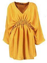 Lissandra Waist Detail Satin Dress