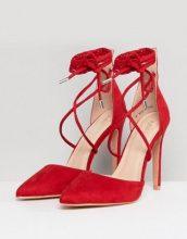 Public Desire - Aries - Décolleté rosse con laccetti - Rosso