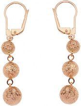 E-10400 - Orecchini da donna, oro rosa 9k (375)