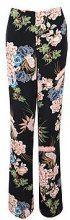 Elsa Premium Floral Print Wide Leg Trouser