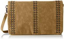 LPB WomanS17b0703 - Borsa a tracolla Donna , beige (Beige (Beige)), 3x23x35 cm (W x H x L)
