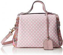 LAURA VITA Dourges - Borse a spalla Donna, Pink (Rose), 16x20x30 cm (B x H T)