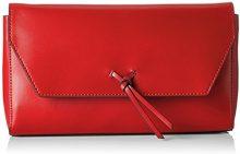 ESPRIT 028ea1o037 - Pochette da giorno Donna, Rosso (Red), 5x15x27 cm (B x H T)
