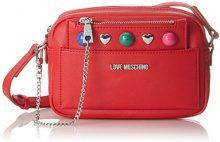 Love Moschino Borsa Pu Rosso - Borse Baguette Donna, (Red), 8x14x21 cm (B x H T)