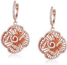 Fei Liu Fine Jewellery           FINEEARRING, argento, colore: oro rosa, cod. CAS-925P-202-CZ00
