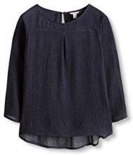 ESPRIT 106EE1F031, Camicia Donna, Blu (Navy), 40