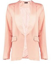 Kaley Pearl Button Detail Tailored Blazer
