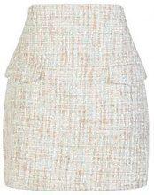 Jade Boucle Mini Skirt