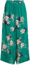 OBJECT COLLECTORS ITEM Flower Patterned Trousers Women Green