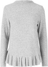 Y.A.S Soft Flounce Blouse Women Grey