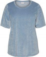 JUNAROSE Velour T-shirt Women Blue