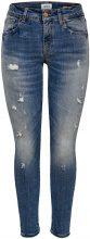 ONLY Alba Reg Ankle Skinny Fit Jeans Women Blue