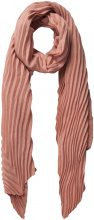 PIECES Long Pleated Scarf Women Pastel