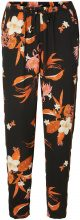VERO MODA Flower Trousers Women Black