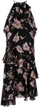 Y.A.S Floral Midi Dress Women Black
