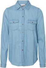 NOISY MAY Light Blue Shirt Women Blue