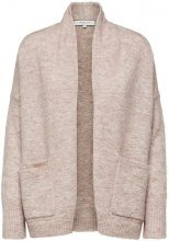 SELECTED Mohair Mix - Knitted Cardigan Women Grey
