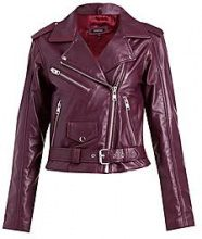 Elizabeth Leather Biker Jacket