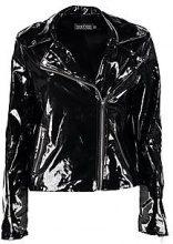 Jemma Vinyl Biker Style Jacket