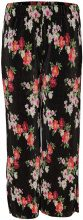 ONLY Curvy Printed Trousers Women Black