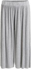 VILA Pleated Trousers Women Grey
