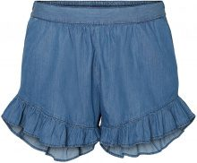JUNAROSE Ruffle Detailed Shorts Women Blue