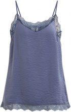 VILA Lace Singlet Women Blue