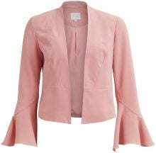 VILA Sleeved Detailed Blazer Women Pink